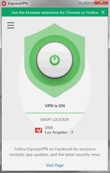 Expressvpn连接成功