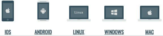 expressvpn iOS、安卓手机 linux windows and macos系统支持